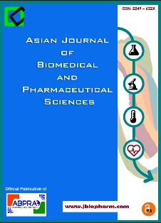 Asian Journal of Biomedical and Pharmaceutical Sciences