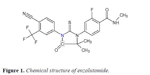molecular-oncology-structure-enzalutamide